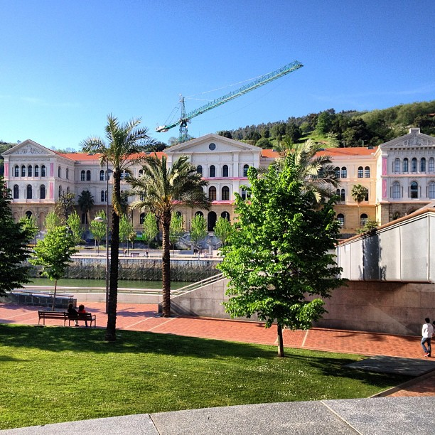 GEAP Scholar 2012, Deusto University, Bilbao, Spain.