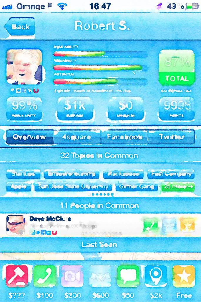 ios app as an aquarelle
