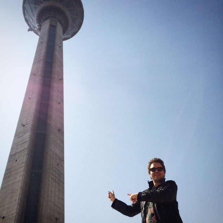 Enjoying my new North Korean hobby of pointing at things