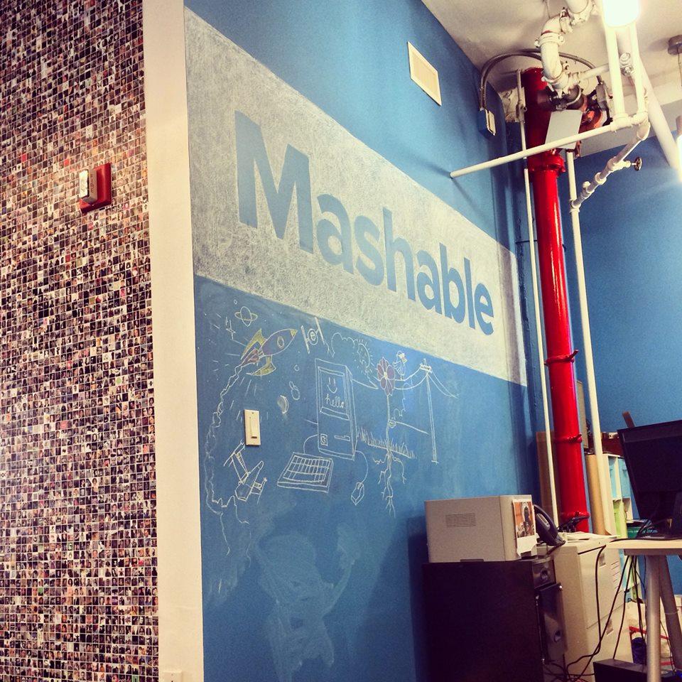 Visiting Mashable NYC HQ