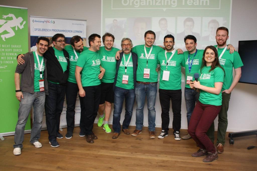 Startup Weekend Education Cologne, organizers, volunteers and international facilitator