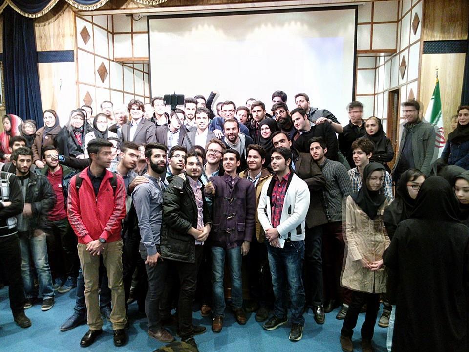 "The ""Selfie"" is a big deal in Iran :)"